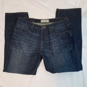 Wrangler Jeans 36 x 30 Distressed Relaxed Straight